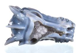Dragon Skull agate lace 17 cm
