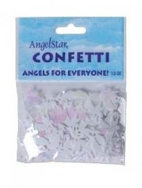 Opal colored angel confetti