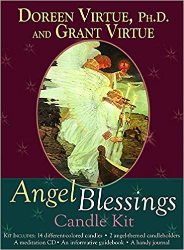 Angel Blessings Candle Kit - Doreen en Grant Virtue