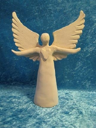 Healing Heart Angel (without glaze)