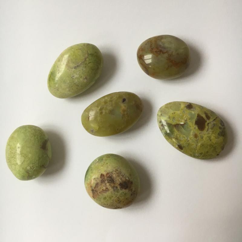 Groene Opaal 5-6,5 cm
