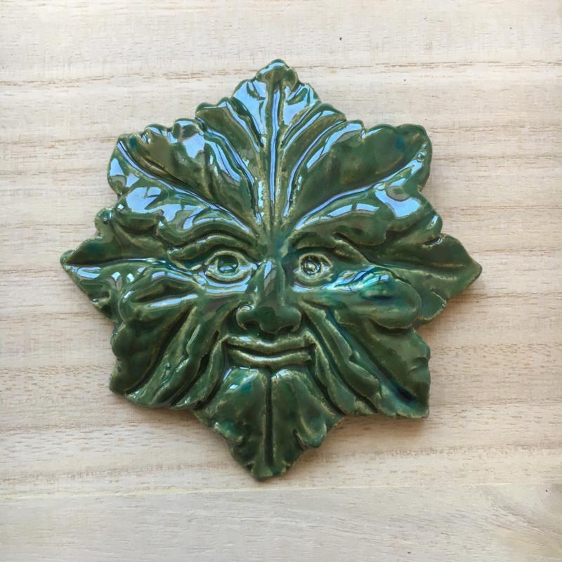 Groene man - effect groen