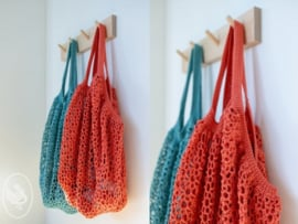 Market Bag haakpakket met Durable Coral