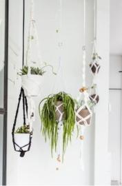 Workshop Macramé plantenhanger knopen