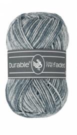Durable Cosy Fine Faded - Blue Grey 289
