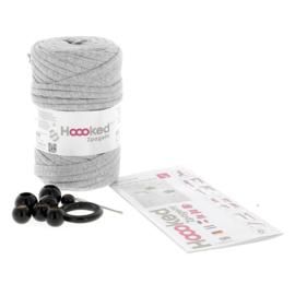 Macramé plantenhanger kit met Zpagetti garen antraciet