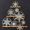 Haakpatroon Mandala Kerstboom