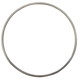 RVS ring 10 cm