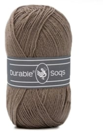 Durable Soqs Deep Taupe 404