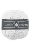 Durable macramé garen wit 310