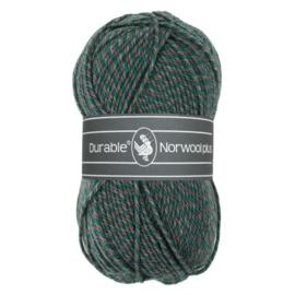 Durable Norwool plus M433 groen/grijs