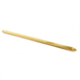 Bamboe haaknaald 6 mm