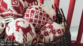 Workshop kerstballen breien