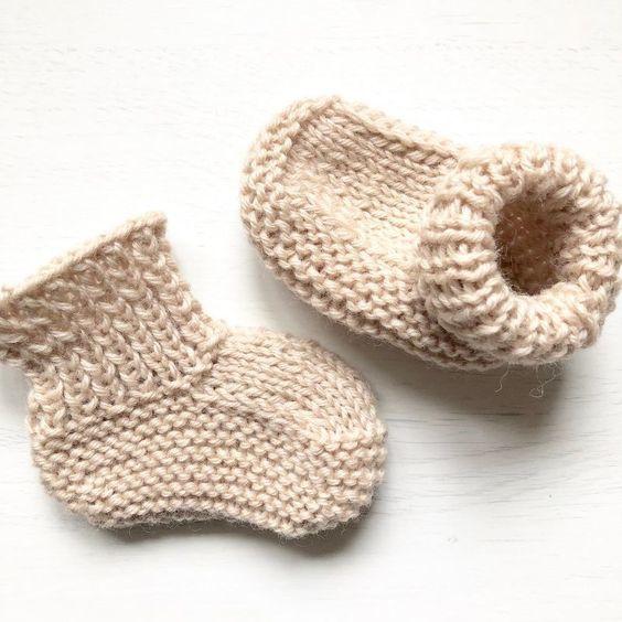 Workshop Baby sokjes breien