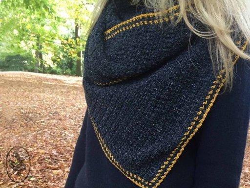 Haakpakket  Asymetrische sjaal