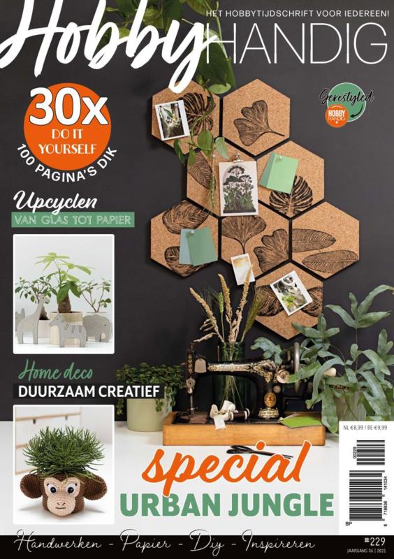 Tijdschrift Hobbyhandig 229 Special Urban Jungle