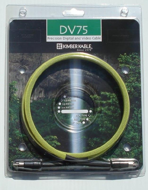 Kimber Kable DV75
