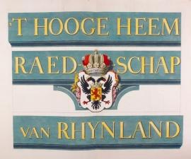 Polderkaart Rijnland.
