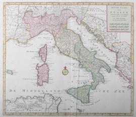 Kaart Italië