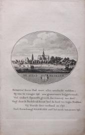 Stads gezicht van Haarlem