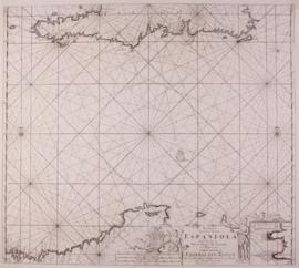 Zeekaart Caribean.