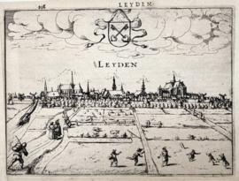 Plattegrond Leiden