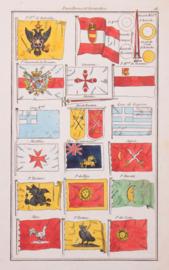 Vlaggenkaartje, Malta, Japan, Oostenrijk, Griekenland, enz...