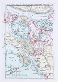 Kaart Brabant.