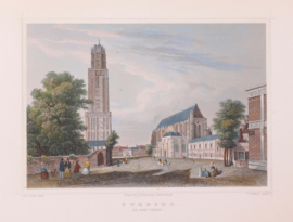 Town view of Utrecht