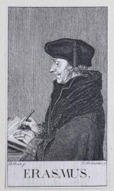 Portrait of Erasmus.