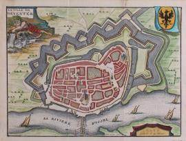 Stadsplattegrond van Deventer
