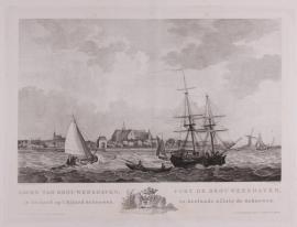 Havengezicht van Brouwershaven