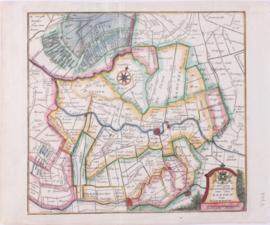 Kaart Utrecht.
