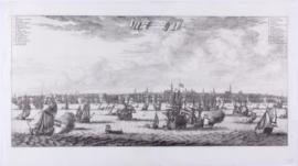 Panorama van Amsterdam.