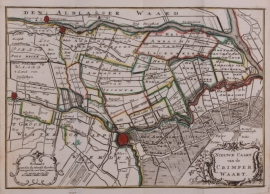 Map of South Holland.