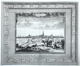 Panorama van Groningen