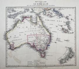 Kaart Australie