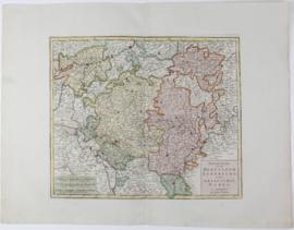 Kaart Luxemburg