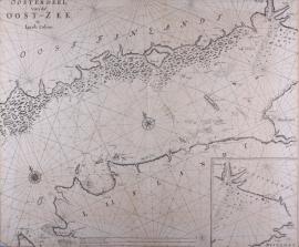 Kaart Oostzee.