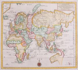 Wereldkaart (Oostelijke deel).