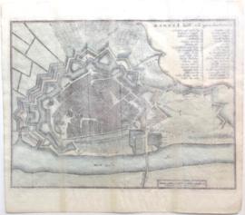 Plattegrond Arnhem.