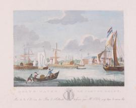 Panorama van Delfshaven.