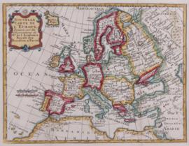 Kaart Europa.