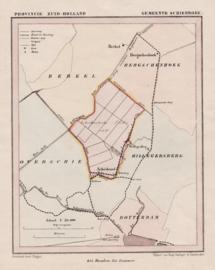 A plan of the district Schiebroek.