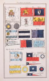 Vlaggenkaartjes Venetie, Haiti, Paraguay enz....