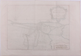 Kaart van Batavia en omgeving