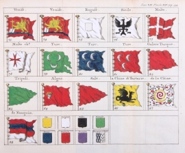 Flags map.