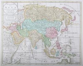 Kaart Azië