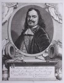 Portret van Michiel de Ruiter.