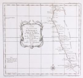 Kaart Zuid Afrika